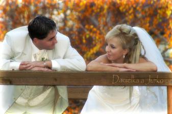takéto upravené fotografie tvoria našu svadobnú knihu