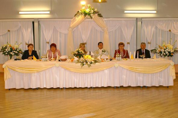 Daniela{{_AND_}}Juraj MIŇOVI - Svadobný stôl