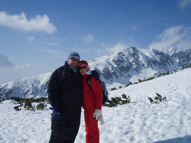 Daniela{{_AND_}}Juraj MIŇOVI - naša prvá spoločná lyžovačka