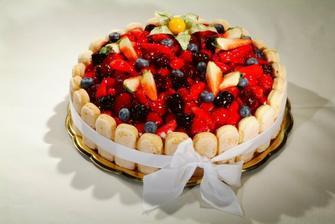 druhý dort, rozhodně ovocný