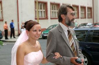 nevěsta s tátou