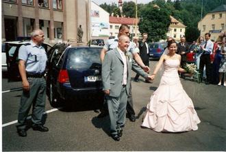 zatroubit na vlastní svatbě, k nezaplacení!
