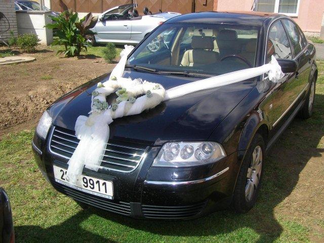 Vyzdoby svadobných  áut - Obrázok č. 11
