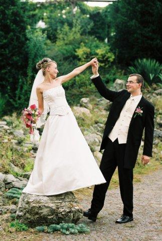 Veronika Budinová{{_AND_}}Peter Forgáč - šťastny manželia