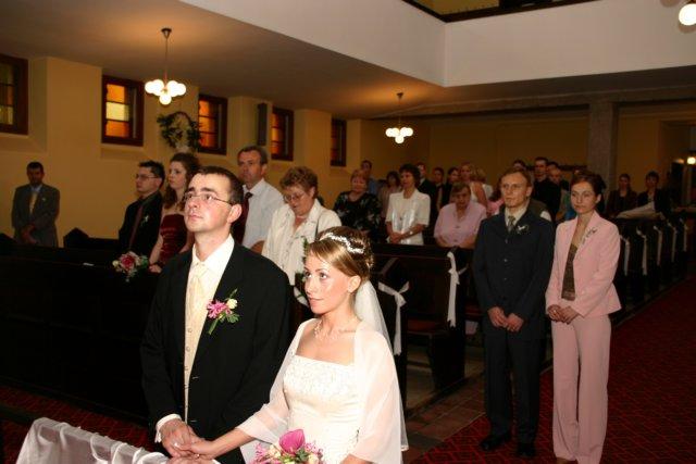 Veronika Budinová{{_AND_}}Peter Forgáč - manželský sľub