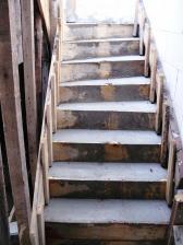 zaliate schody