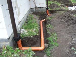 odvod dazdovej vody