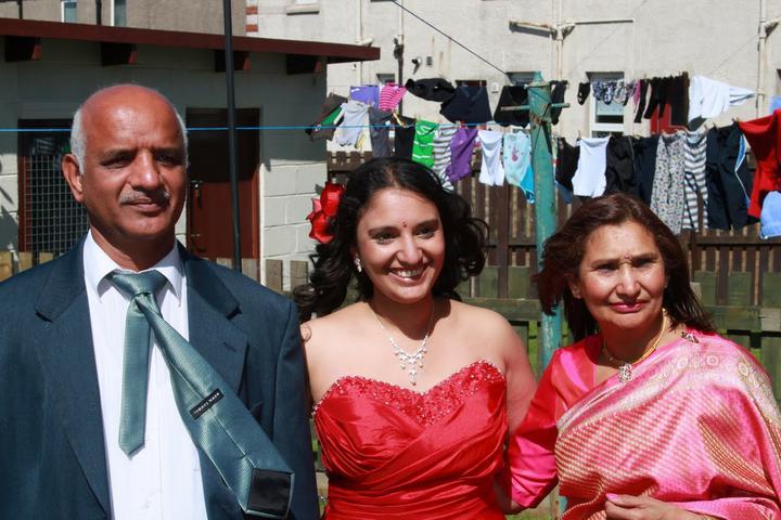 Abita Bhaskar{{_AND_}}Douglas Perry - Me with my parents