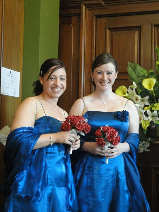 Abita Bhaskar{{_AND_}}Douglas Perry - My two beautiful bridesmaids