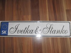 ŠPZ Ivetka & Stanko - Obrázok č. 1