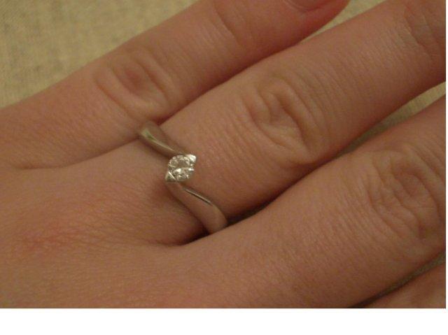 1.10.2005 je za dverami :) - zasnubny prstienok bol ako prvy