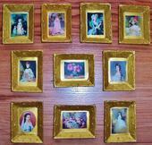 Obrázky-doplnky do domčeka pre bábiky,