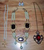 Dobové vintage repliky šperkov,