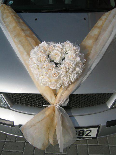 Vyzdoby svadobných  áut - Obrázok č. 4