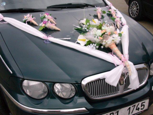 Vyzdoby svadobných  áut - Obrázok č. 35