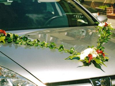 Vyzdoby svadobných  áut - Obrázok č. 36