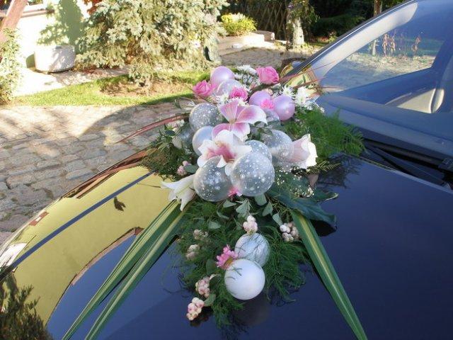 Vyzdoby svadobných  áut - Obrázok č. 39