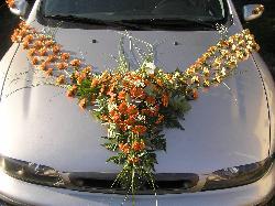 Vyzdoby svadobných  áut - Obrázok č. 45