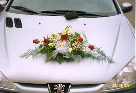 Vyzdoby svadobných  áut - Obrázok č. 49