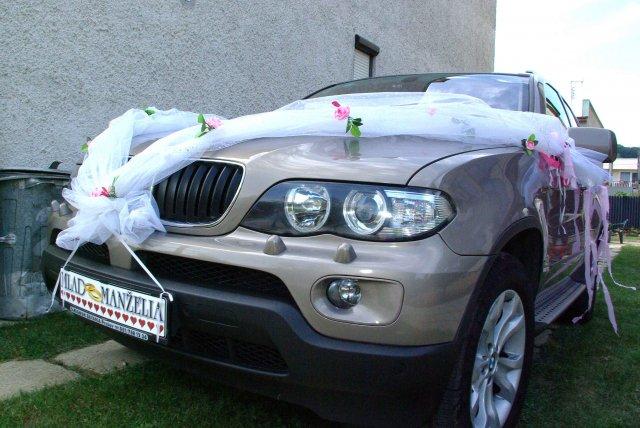 Vyzdoby svadobných  áut - Obrázok č. 50