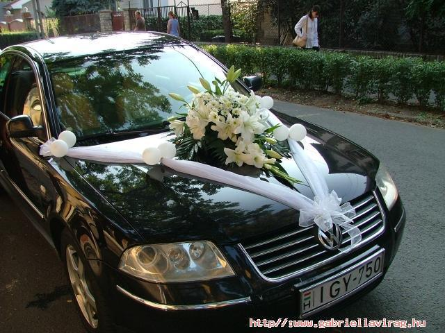 Vyzdoby svadobných  áut - Obrázok č. 52