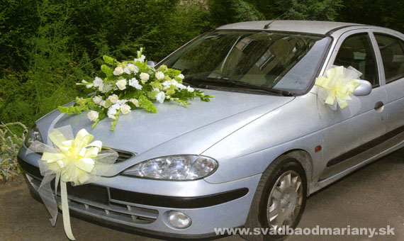 Vyzdoby svadobných  áut - Obrázok č. 59