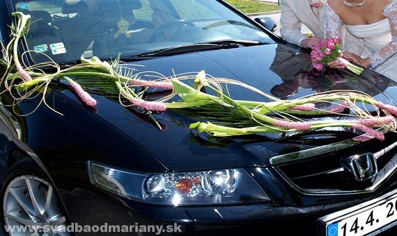 Vyzdoby svadobných  áut - Obrázok č. 60