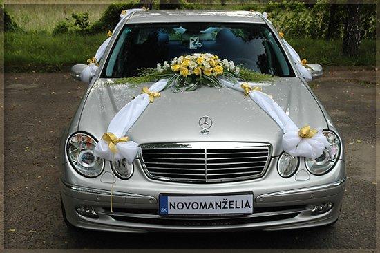 Vyzdoby svadobných  áut - Obrázok č. 63