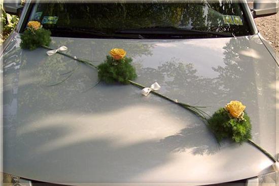 Vyzdoby svadobných  áut - Obrázok č. 68