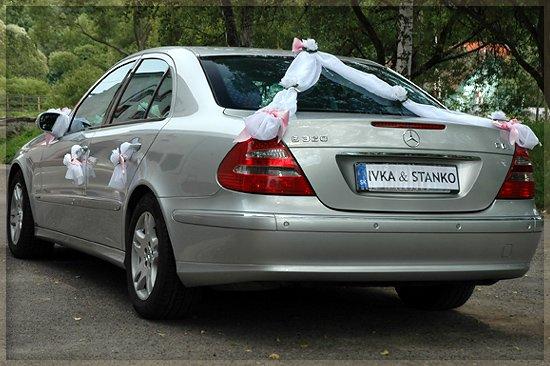 Vyzdoby svadobných  áut - Obrázok č. 79