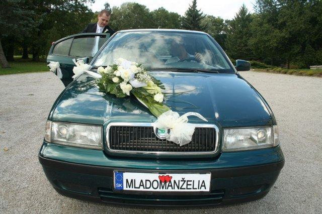Vyzdoby svadobných  áut - Obrázok č. 83