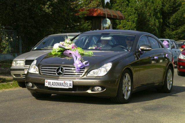 Vyzdoby svadobných  áut - Obrázok č. 86
