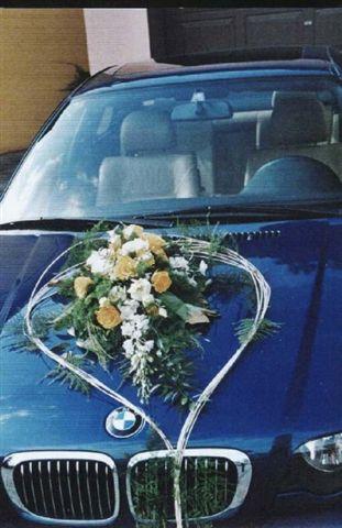 Vyzdoby svadobných  áut - Obrázok č. 95