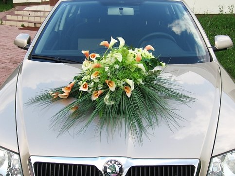 Vyzdoby svadobných  áut - Obrázok č. 98