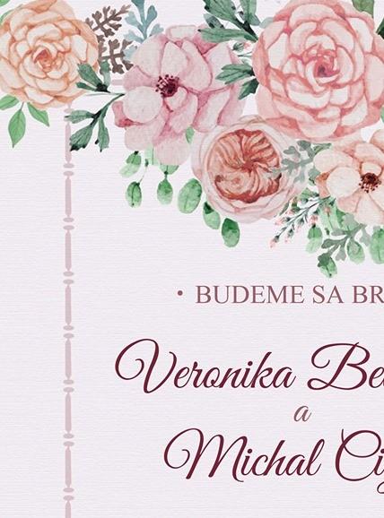 Kaštieľ Mojmírovce- Veronika a Michal - Obrázok č. 1