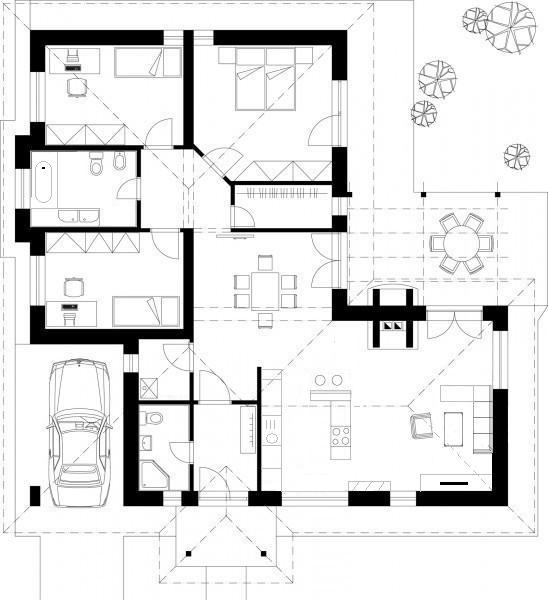 Náš bungalov Archikom1 - Obrázok č. 3