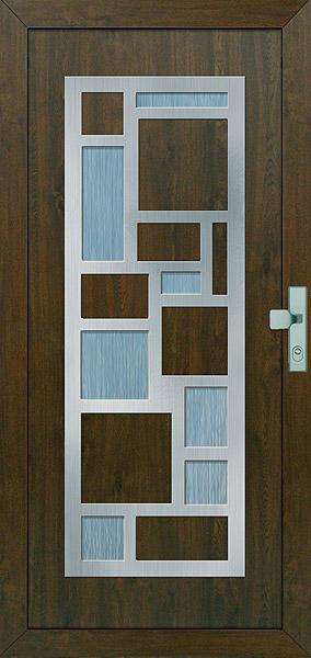 Náš bungalov Archikom1 - vchodove dvere,vlozka gava742