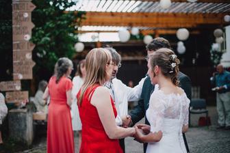 Přání od rodičů nevěsty