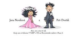 svatební oznámení...líbí?