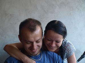 koukám, že máme podobnej úsměv. Miláček je poklad :-*