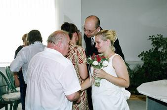 svatba bráchy přítele