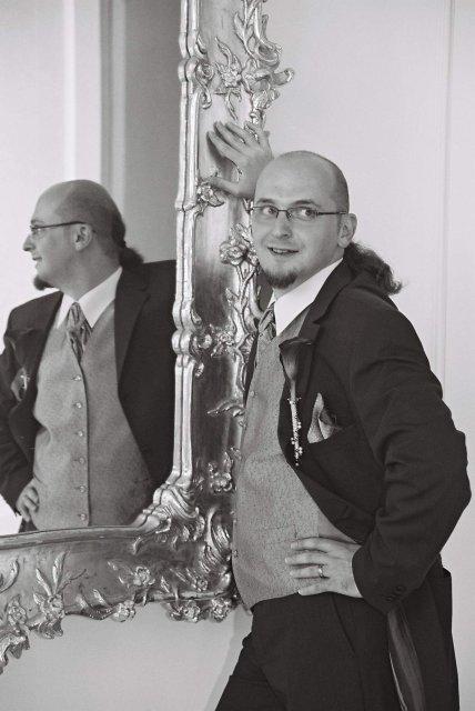 Katka Čulenová{{_AND_}}Mirko Polák - pan zenich tiez jeden usmev