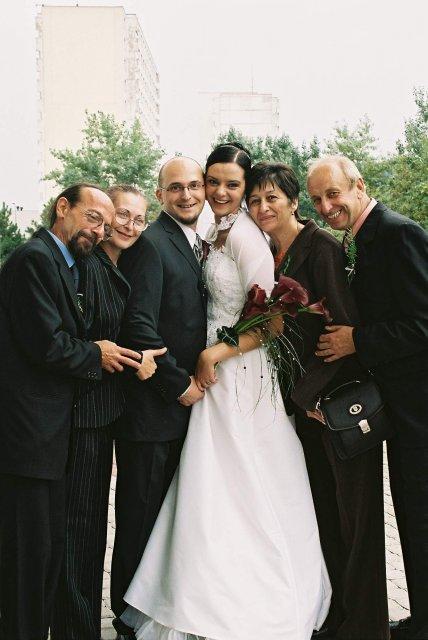 Katka Čulenová{{_AND_}}Mirko Polák - s rodicmi