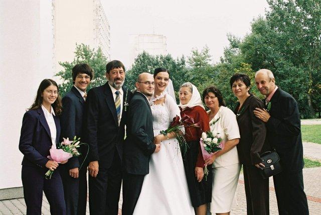Katka Čulenová{{_AND_}}Mirko Polák - nevestina rodina