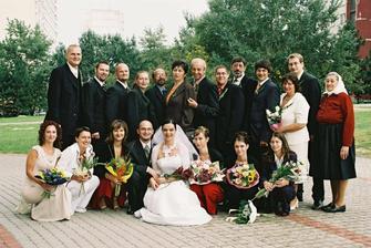 vsetci svadobcania