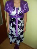 kvietkované šaty, 38