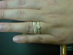 tak takové budeme mít prsteny, už jsou doma :-)