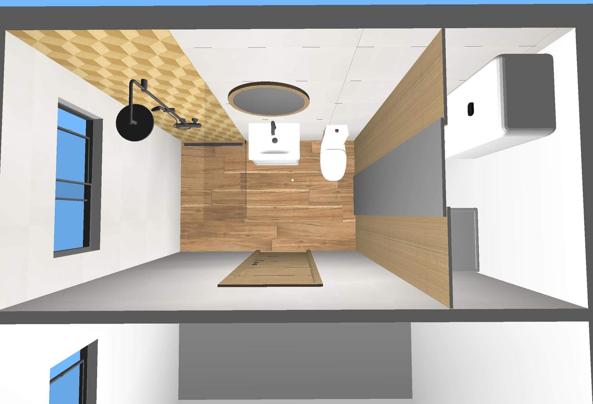 Kúpeľňa, čo zmeniť, nie obklad to ešte nie, skôr umiestnenie - Obrázok č. 1