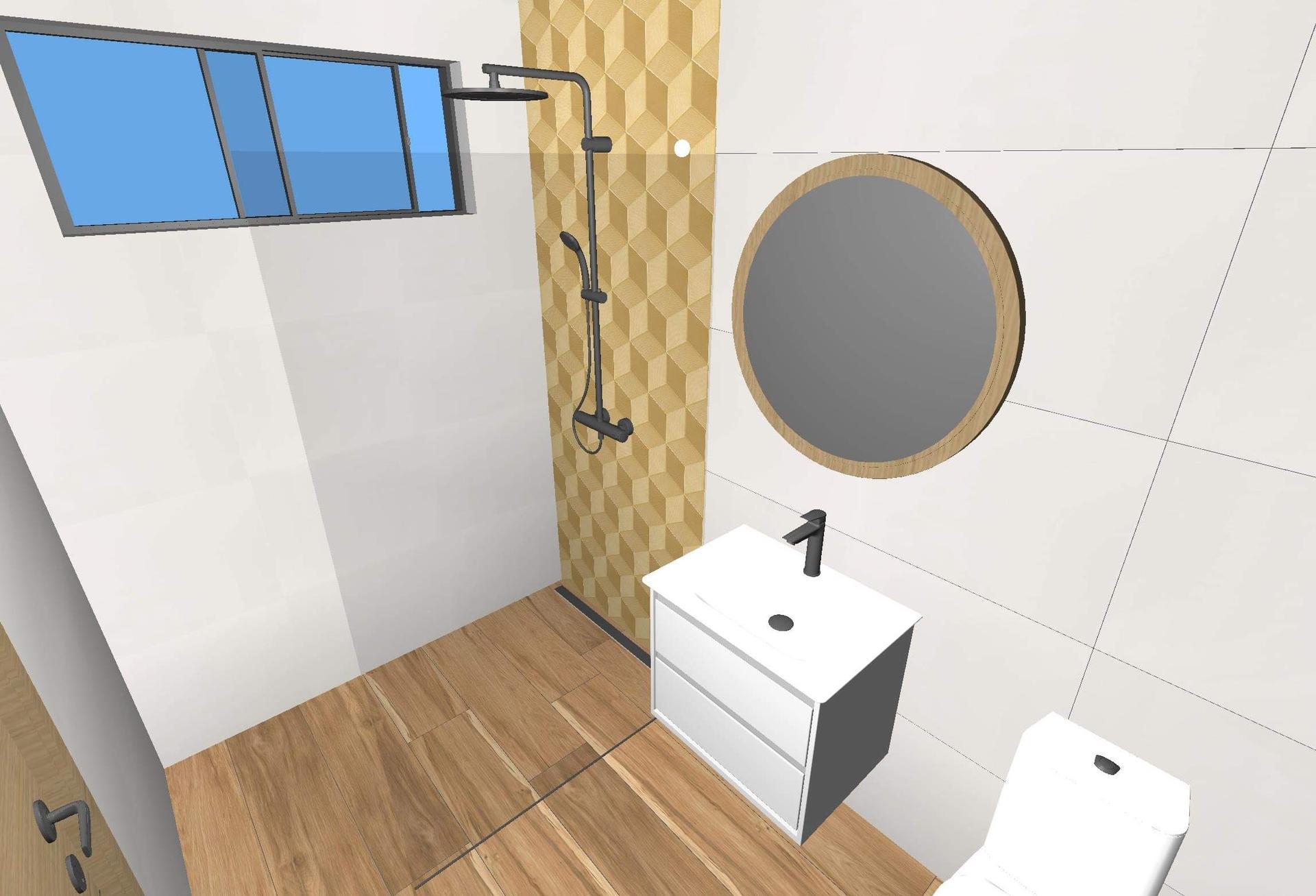 Kúpeľňa, čo zmeniť, nie obklad to ešte nie, skôr umiestnenie - Obrázok č. 2
