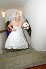 už jen pár schodů...a bude ze mě paní